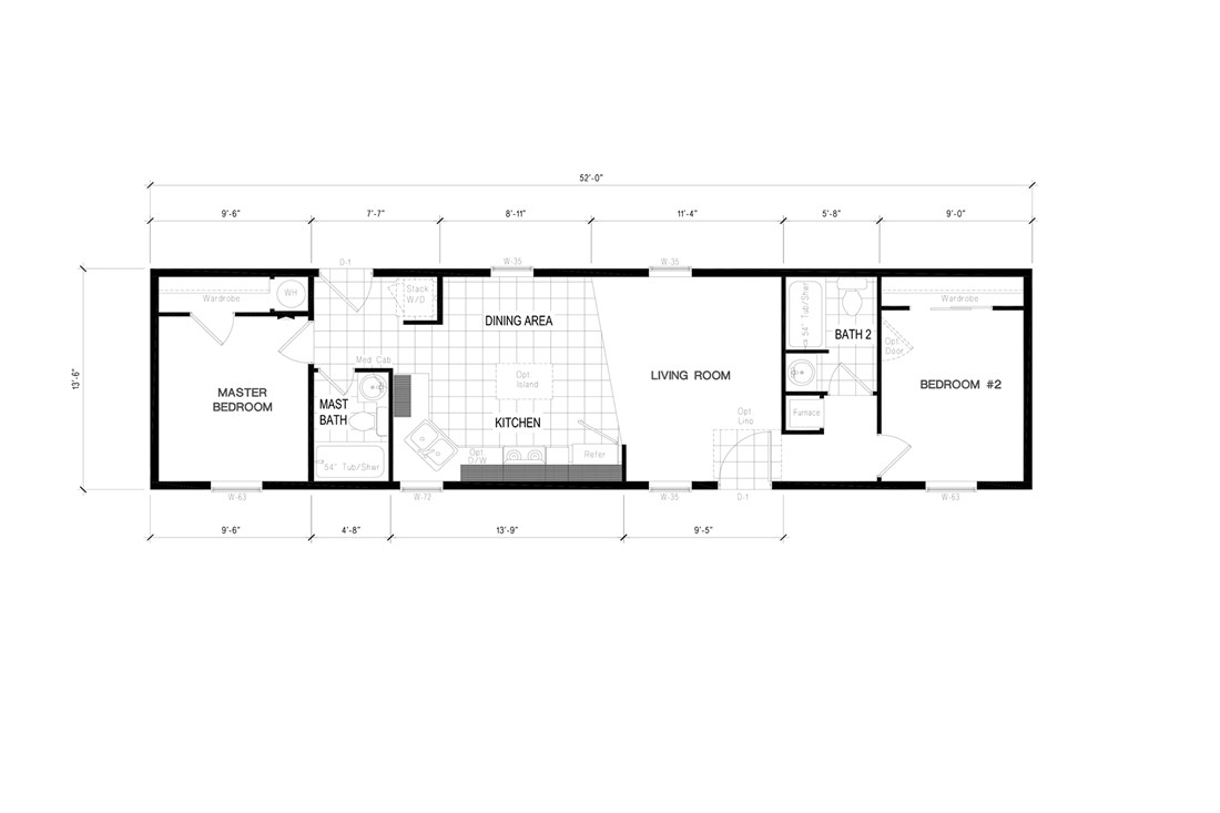 The THE MADRONA            CLAYTON Floor Plan
